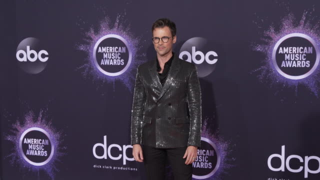 brad goreski at the 2019 american music awards at microsoft theater on november 24 2019 in los angeles california - american music awards stock videos & royalty-free footage