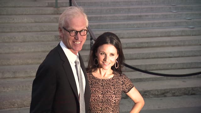 Brad Hall and Julia LouisDreyfus at Vanity Fair Party 2012 Tribeca Film Festival on 4/17/2012 in New York NY United States