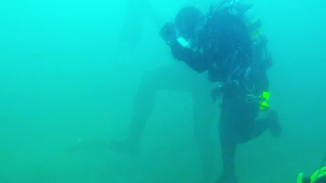 brad is a serious diver with serious skills. he has completed many advanced courses and instructed hundreds of groups on their way to becoming... - river niagara stock videos & royalty-free footage