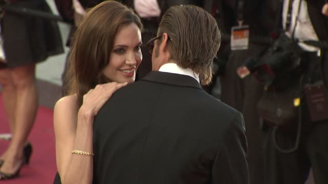 Brad Pitt and Angelina Jolie at the The Tree of Life Premiere 64th Cannes Film Festival at Cannes