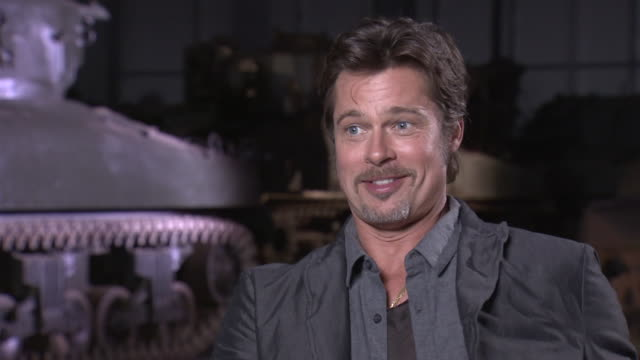 Brad Pitt and David Ayer on Mud the Tank and Personal movies