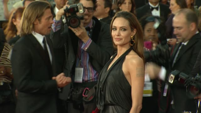 Brad Pitt Angelina Jolie at 18th Annual Screen Actors Guild Awards Arrivals on 1/29/12 in Los Angeles CA