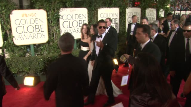 Brad Pitt Angelina Jolie at the 66th Annual Golden Globe Awards Arrivals Part 2 at Los Angeles CA