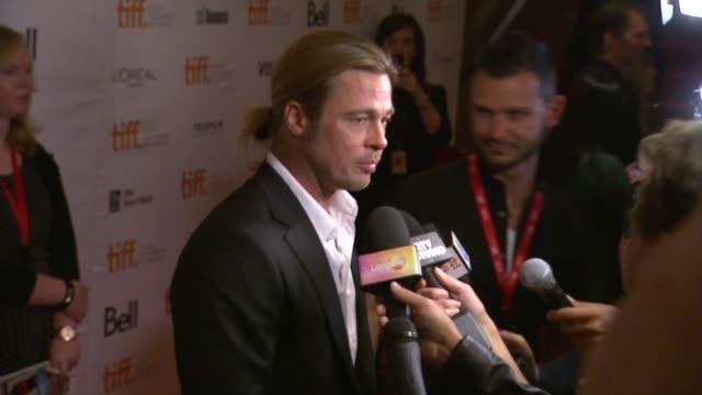 Brad Pitt at '12 Years A Slave' Premiere 2013 Toronto International Film Festival Brad Pitt at '12 Years A Slave' Premiere 2013 at Princess of Wales...
