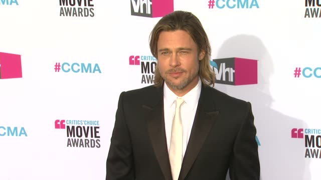 Brad Pitt at 17th Annual Critics' Choice Movie Awards on 1/12/12 in Hollywood CA