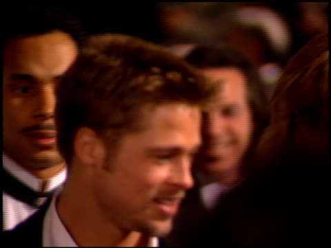Brad Pitt at the 1995 Golden Globe Awards at the Beverly Hilton in Beverly Hills California on January 21 1995