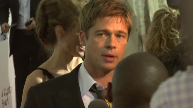 Brad Pitt at the 'A Mighty Heart' Premiere at Ziegfeld Theatre in New York New York on June 13 2007