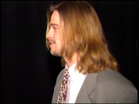 brad pitt at the showest 93 on january 1, 1993. - 1993 stock videos & royalty-free footage