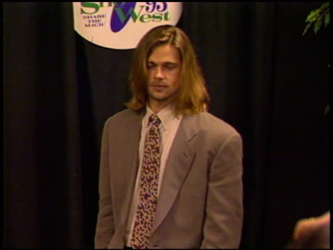 Brad Pitt at the ShoWest 93 on January 1 1993