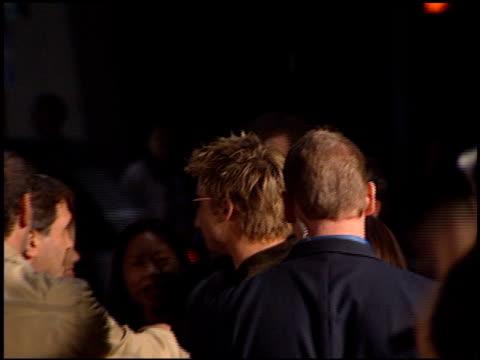 Brad Pitt at the 'Spy Game' Premiere on November 19 2001