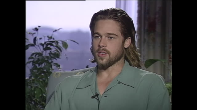brad pitt on his parents - brad pitt actor stock videos & royalty-free footage