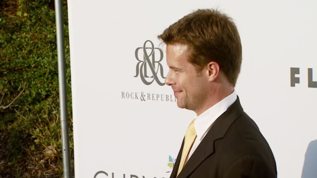 brad rowe at the chrysalis butterfly ball at a private residence in los angeles california on june 2 2007 - chrysalis butterfly ball video stock e b–roll