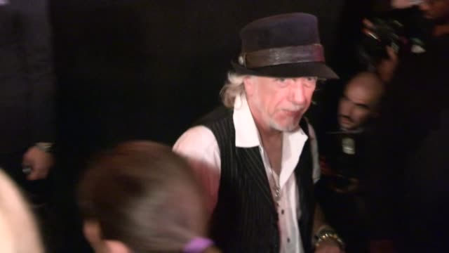 brad whitford greet fans at aerosmith concert after party at pink taco in west hollywood at celebrity sightings in los angeles brad whitford greet... - エアロスミス点の映像素材/bロール