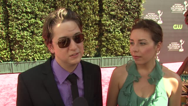 vidéos et rushes de bradford anderson on his nomination, his character, daytime fans, his good luck charm - fiancee kiera o'neil. at the 36th annual daytime emmy awards... - nominations aux emmy awards