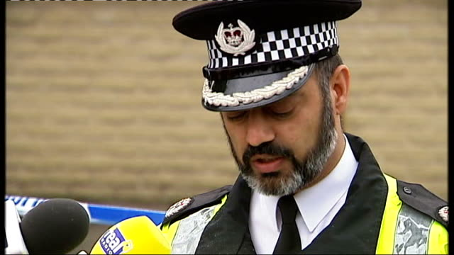 EXT Assistant Chief Constable Jawaid Akhtar at press conference and reading statement SOT a man is being questioned over the murder of Suzanne...