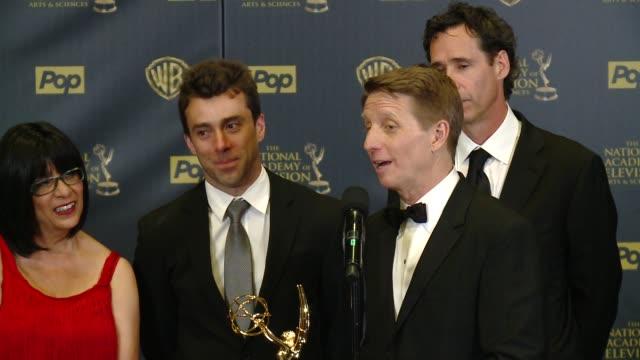SPEECH Bradley Bell on winning the award at 42nd Annual Daytime EMMY Awards at Warner Bros Studios on April 26 2015 in Burbank California