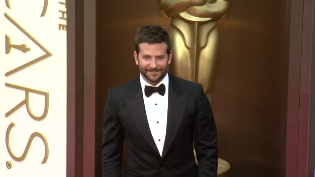 bradley cooper - 86th annual academy awards - arrivals at hollywood & highland center on march 02, 2014 in hollywood, california. - academy awards stock-videos und b-roll-filmmaterial