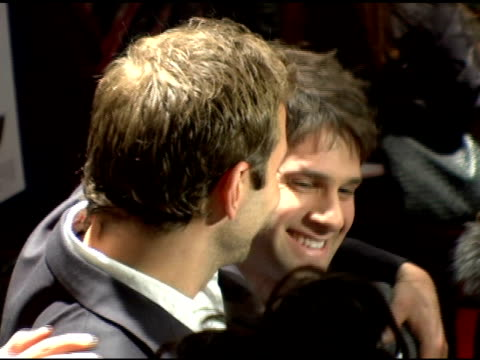 bradley cooper and justin bartha at the 'failure to launch' new york premiere at chelsea west in new york, new york on march 8, 2006. - failure to launch stock videos & royalty-free footage