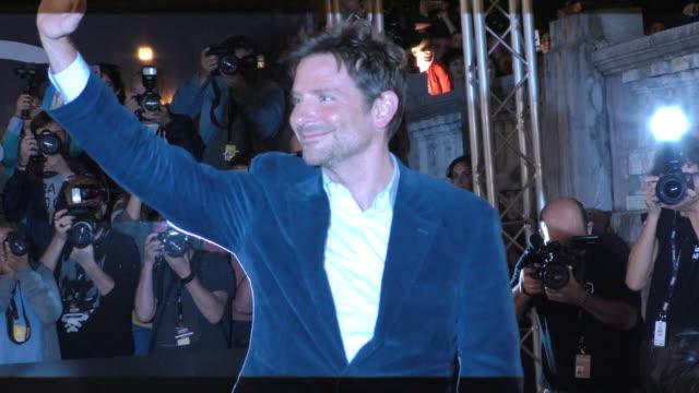 Bradley Cooper arrives in San Sebastian Spain during the 66th San Sebastian International Film Festival on September 28 2018 in San Sebastian Spain