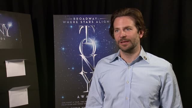 INTERVIEW Bradley Cooper at 2015 Tony Awards Meet The Nominees Reception at The Paramount Hotel on April 29 2015 in New York City