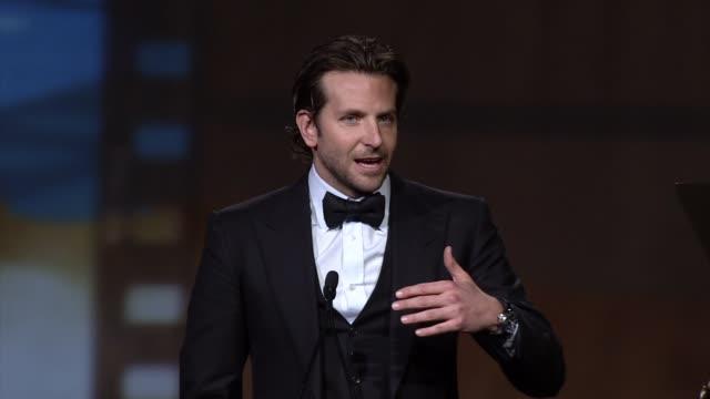 SPEECH Bradley Cooper at 24th Annual Palm Springs International Film Festival Awards Gala on 1/5/13 in Los Angeles CA