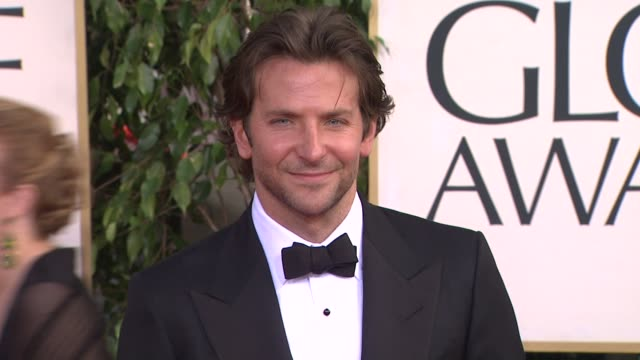 Bradley Cooper at 70th Annual Golden Globe Awards Arrivals 1/13/2013 in Beverly Hills CA