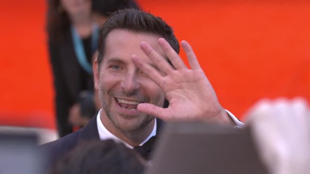 gif bradley cooper at 75th venice international film festival gif on august 28 2018 in venice italy - gif file format extension stock videos & royalty-free footage