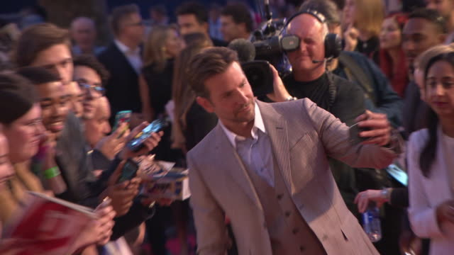 Bradley Cooper at 'A Star is Born' UK Premiere at Vue West End on September 27 2018 in London England