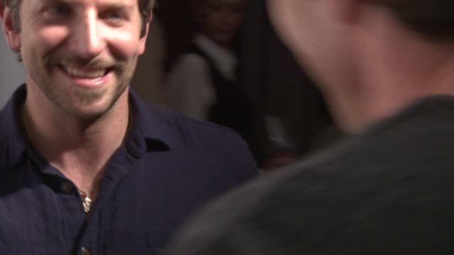 bradley cooper at acura hosts 'the words' cast dinner at the acura studio in park city utah on 1/26/2012 - park city utah stock videos and b-roll footage