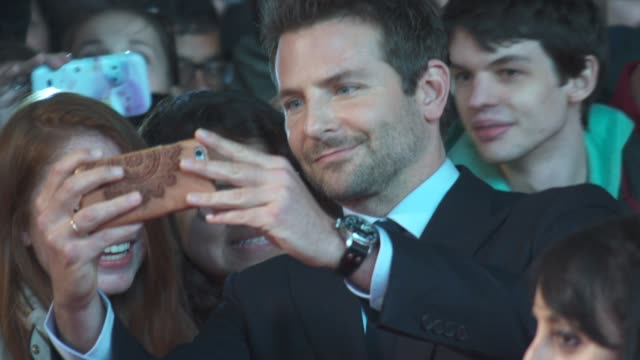 Bradley Cooper at 'Burnt' UK film premiere on October 28 2015 in London England