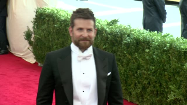 Bradley Cooper at Charles James Beyond Fashion Costume Institute Gala Arrivals at The Metropolitan Museum on May 05 2014 in New York City