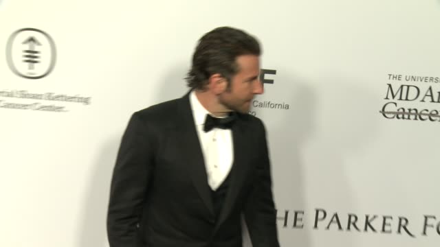 Bradley Cooper at Sean Parker And The Parker Foundation Celebrate The Launch Of The Parker Institute For Cancer Immunotherapy on April 13 2016 in Los...