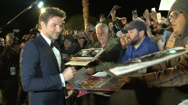 Bradley Cooper at the 30th Annual Palm Springs International Film Festival Film Awards Gala at Palm Springs Convention Center on January 3 2019 in...