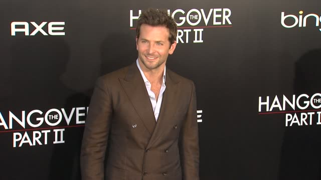 Bradley Cooper at the 'The Hangover Part II' premiere at Hollywood CA
