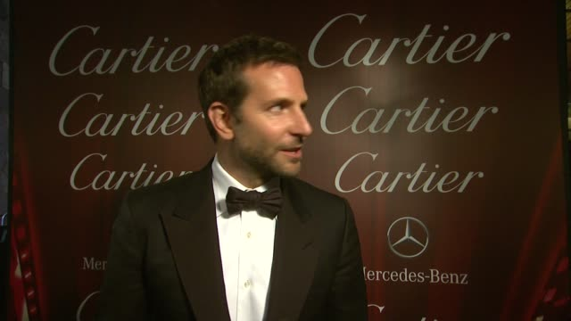 INTERVIEW Bradley Cooper on the best part about working with everyone at the 25th Annual Palm Springs International Film Festival Awards Gala...