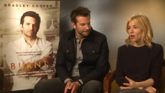INTERVIEW Bradley Cooper Sienna Miller on being a restaurateur working in the kitchen not having the time to be restaurateur Marcus Wareing...