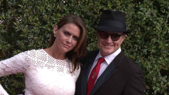 bradley whitford and amy landecker at the 2015 creative arts emmy awards at microsoft theater on september 12, 2015 in los angeles, california. - bradley whitford stock videos & royalty-free footage
