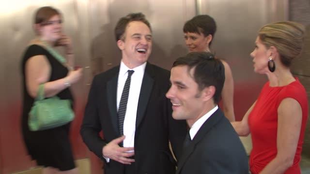bradley whitford and molly ward at the 62nd annual tony awards at new york ny. - bradley whitford stock videos & royalty-free footage