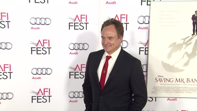 """bradley whitford at afi fest 2013 opening night gala premiere of disney's """"saving mr. banks"""" in hollywood, ca, on . - bradley whitford stock videos & royalty-free footage"""