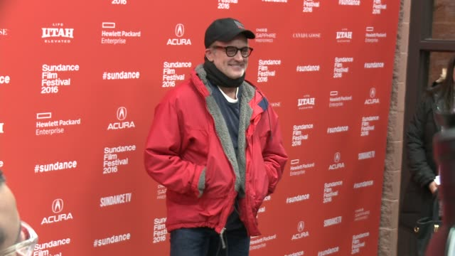 """bradley whitford at """"other people"""" screening - 2016 sundance film festival at eccles center theatre on january 21, 2016 in park city, utah. - bradley whitford stock videos & royalty-free footage"""