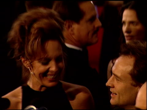 bradley whitford at the 2000 golden globe awards at the beverly hilton in beverly hills, california on january 23, 2000. - bradley whitford stock videos & royalty-free footage