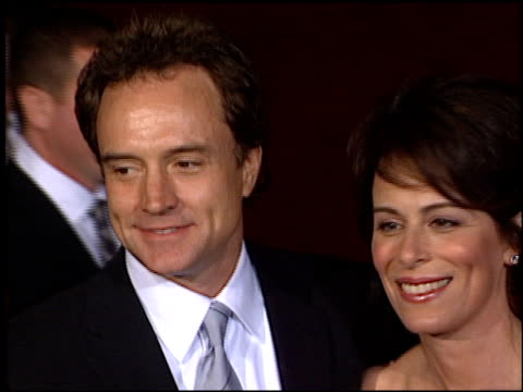 bradley whitford at the 2001 emmy awards at the shubert theater in century city, california on november 4, 2001. - bradley whitford stock videos & royalty-free footage