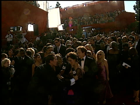 bradley whitford at the 2002 emmy awards at the shrine auditorium in los angeles, california on september 22, 2002. - bradley whitford stock videos & royalty-free footage