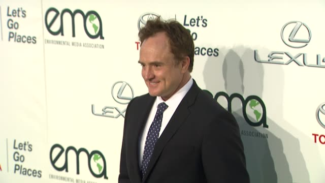 bradley whitford at the 2013 environmental media awards presented by toyota & lexus at warner bros. studios in burbank, ca on 10/19/13 in burbank, ca... - bradley whitford stock videos & royalty-free footage