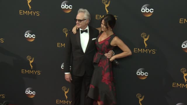 bradley whitford at the 68th annual primetime emmy awards - arrivals at microsoft theater on september 18, 2016 in los angeles, california. - bradley whitford stock videos & royalty-free footage