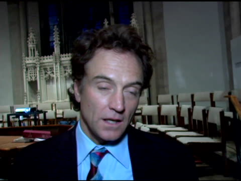 bradley whitford at the 'speak truth to power' benefit reading at all saints church in pasadena, california on june 11, 2005. - bradley whitford stock videos & royalty-free footage