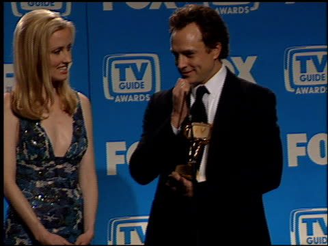 bradley whitford at the tv guide awards at the shrine auditorium in los angeles, california on february 24, 2001. - bradley whitford stock videos & royalty-free footage