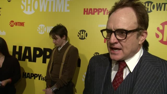 INTERVIEW Bradley Whitford talks about his character on HAPPYish at The SHOWTIME Premiere Of The Original Comedy Series HAPPYish at Sunshine Cinema...