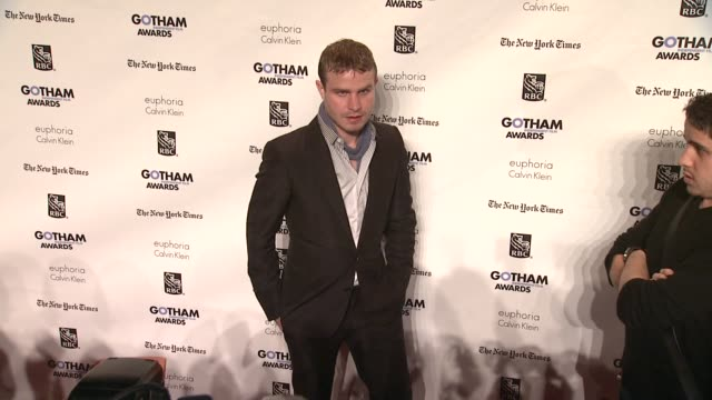 brady corbet at the ifp's 21st annual gotham independent film awards red carpet at new york ny - independent feature project stock videos & royalty-free footage