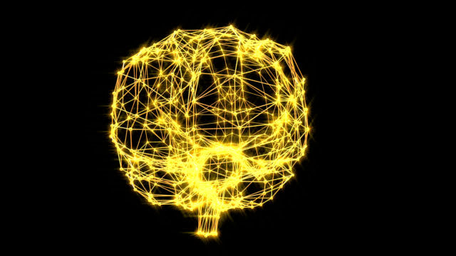 brain connections - human nervous system stock videos and b-roll footage